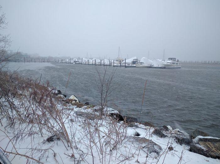 Boats Boatscape Marina Cold Outside