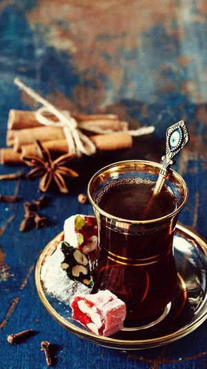 Sweet Food Cinnamon Star Anise Drink Tea - Hot Drink Food And Drink Food Indoors  Close-up No People
