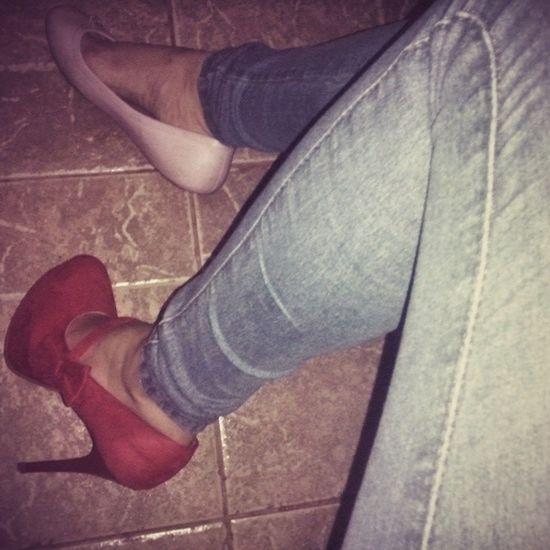 Amaaaaaaaaaando meu novo bebê *----------* Salto Meiapata Sapato  Perfeito rss love cute