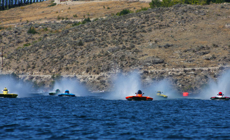 Race day in Chelan, WA. Boat Race  Boating Boating Lifestyle Competition Leisure Activity Lifestyle Motion Nautical Vessel Race Race Day Racing Racing Boat Racing Boats Scenics Splashing Travel Vacations Water Waterfront