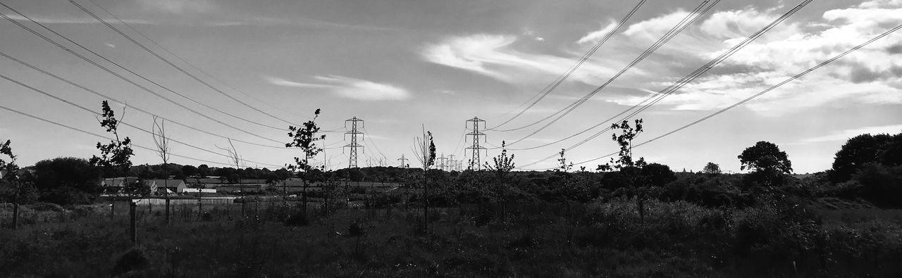 Pylons Sky