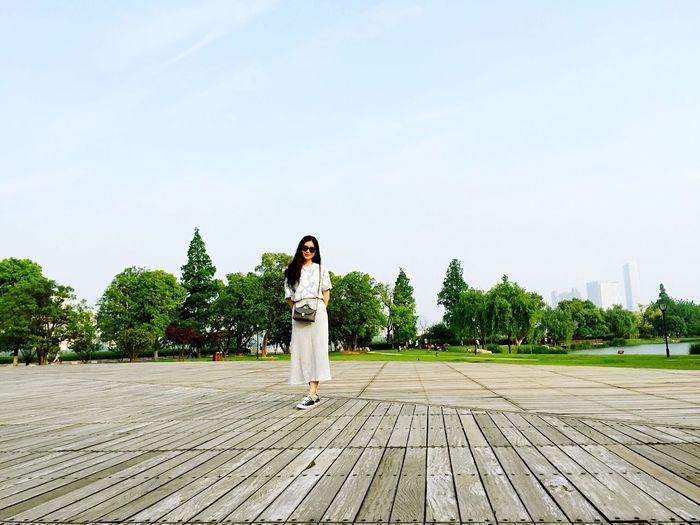 sunshine is sooooo good,just walk around🌞 位于 Changsha , China