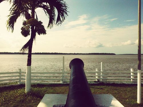 Historical Monuments Waterscape Share My World:) Sea And Sky Fire ! A Little Piece Of Our History Ordnance