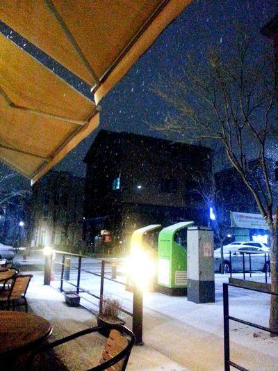 경기도 눈오는날 Caffe Time 카페 눈 Snow Pic Like4like