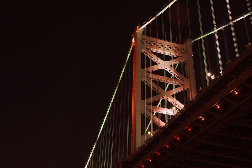 Hangin With Mr Cooper Connection Bridge - Man Made Structure Engineering Suspension Bridge Architecture Night Built Structure