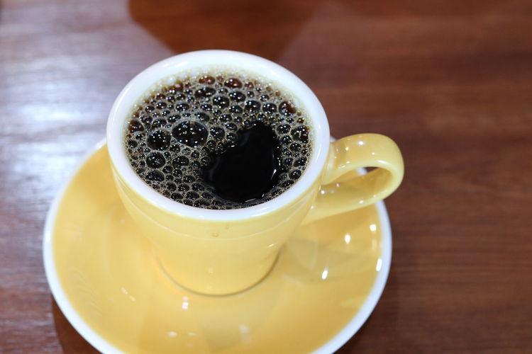 Drip coffee in