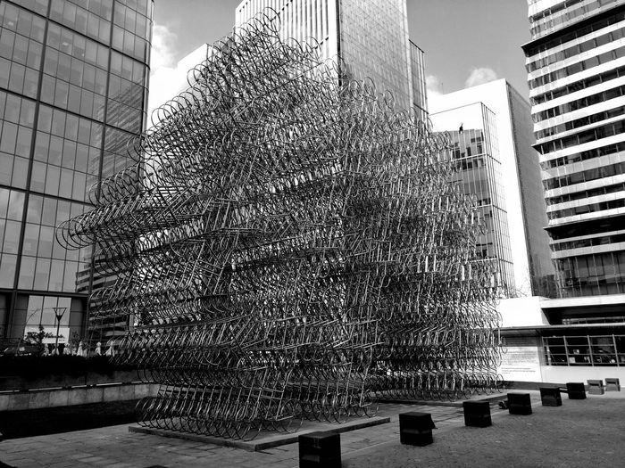 """Ai Wei Wei en Santiago de Chile"""" Art Aiweiweiexhibition Aiweiwei Santiago De Chile Skyscraper Architecture Sky Building Exterior Built Structure Office Building Skyline Urban Skyline Building"""