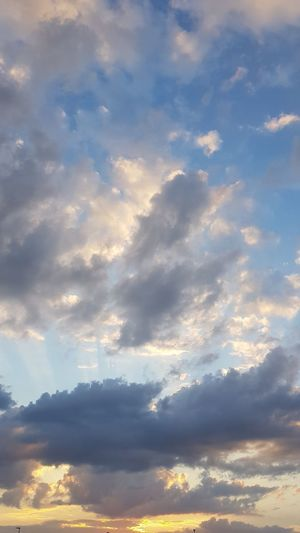 Sky Only Heaven Dramatic Sky Cloudscape