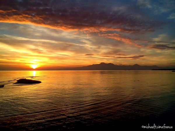 Sandbar and Sunset 25Feb Relaxing Hello World Quality Time Being A Beach Bum Enjoying Life More Fun In The Philippines  Hanging Out Travelling