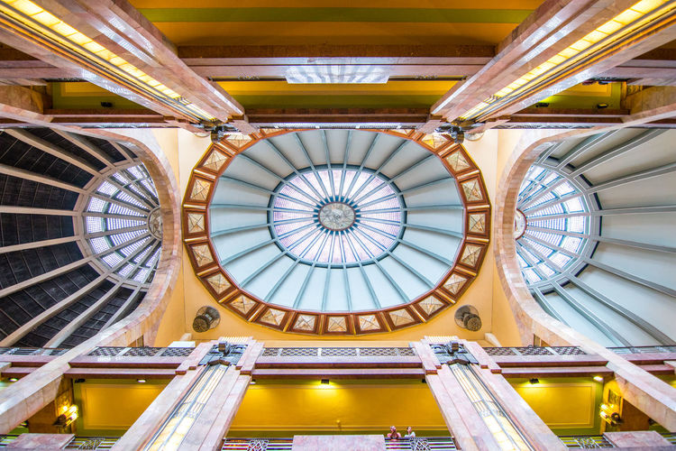 City Dome Ornate Architecture Built Structure Architecture And Art Skylight Directly Below Interior First Eyeem Photo