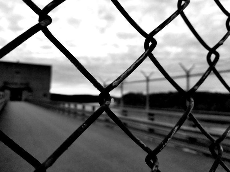 Fence Chainlink Fence Security Close-up