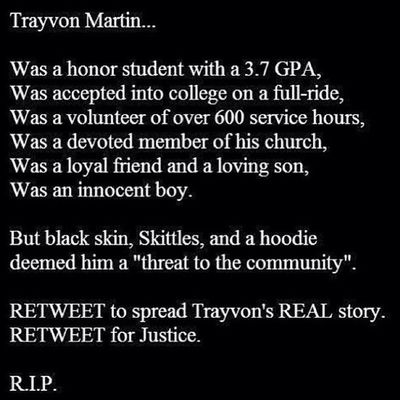 Repost Trayvon Trayvonmartin Nojustice justice truth overcome