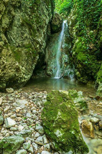 Deklešanec waterfall Nature Photography Landscape_photography Long Exposure Waterfall Creek Gorge Canyon