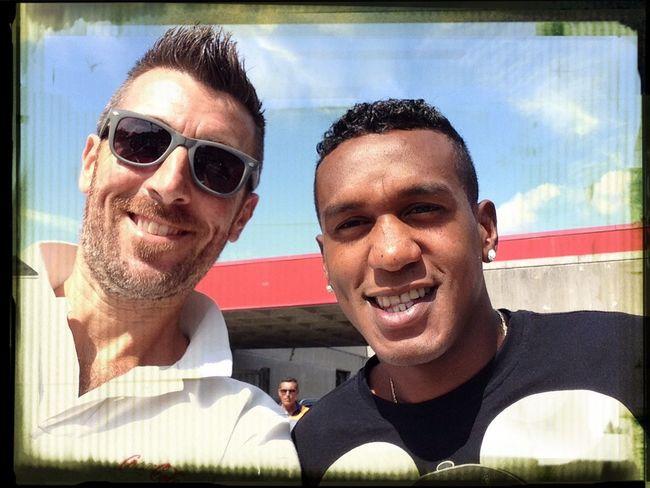 Selfie con EDENILSON SerieA Footballfan Topplayer Calcioitaliano
