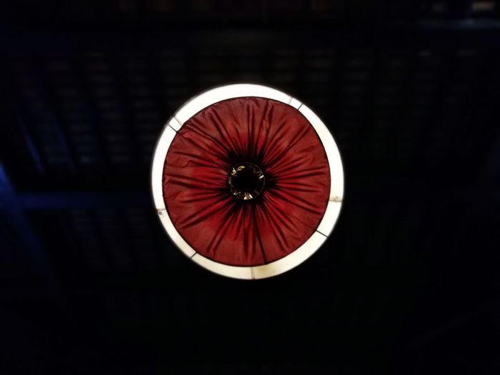 Darkness And Light Dark Circle Red