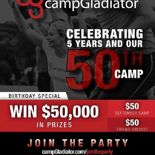 Campgladiator September Groupfitness Fitness