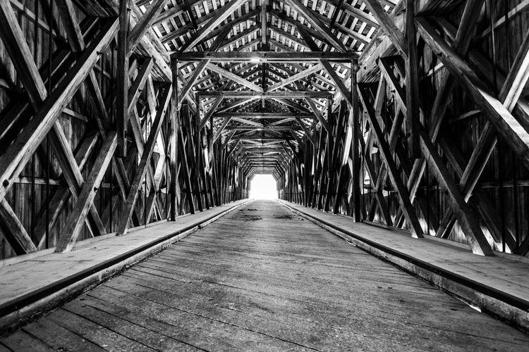 Surface level view of alte rheinbrücke vaduz interior
