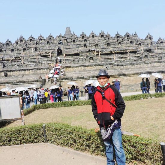 Borobudur , jogja Indonesia Incredible Awesome Nice Day Borobudur Borobudur Temple Jogjaistimewa INDONESIA Toirism Tourism Touring