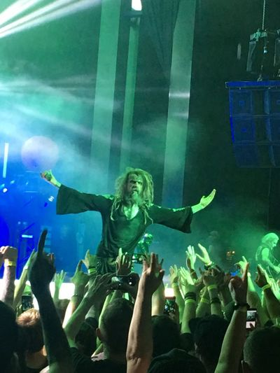 Robzombie Massachusetts Nightlife Arms Raised Crowd Concert Streamzoofamily Zombie RockandRoll Enjoyment Heavy Metal Rocking Out Xfinitycenter Summer Concerts Upclose Photography Upclose And Personal