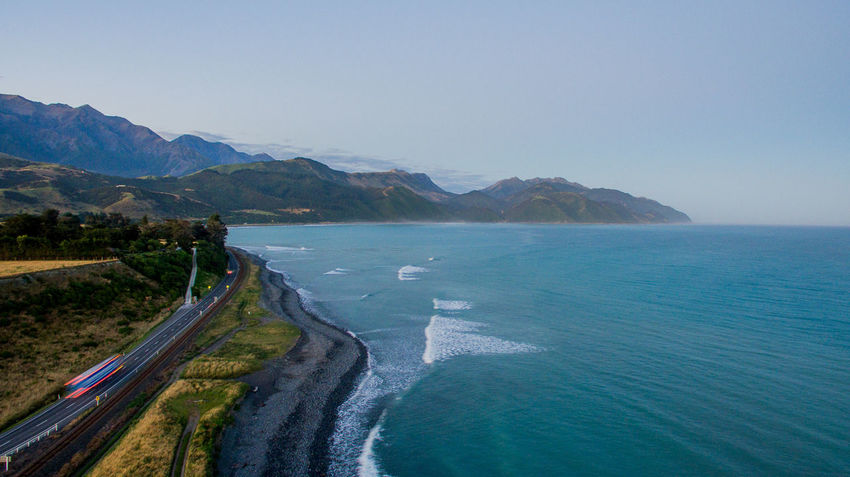 aerial drone shot and landscape over kaikoura new zealand with water and beautiful perspective in natural reserve Drone  Aboutpassion Aerial View Beach Beauty In Nature Blue Clear Sky Day Idyllic Land Mavic Pro Mountain Mountain Range Nature No People Non-urban Scene Outdoors Scenics - Nature Sea Sky Tranquil Scene Tranquility Vanlife Water