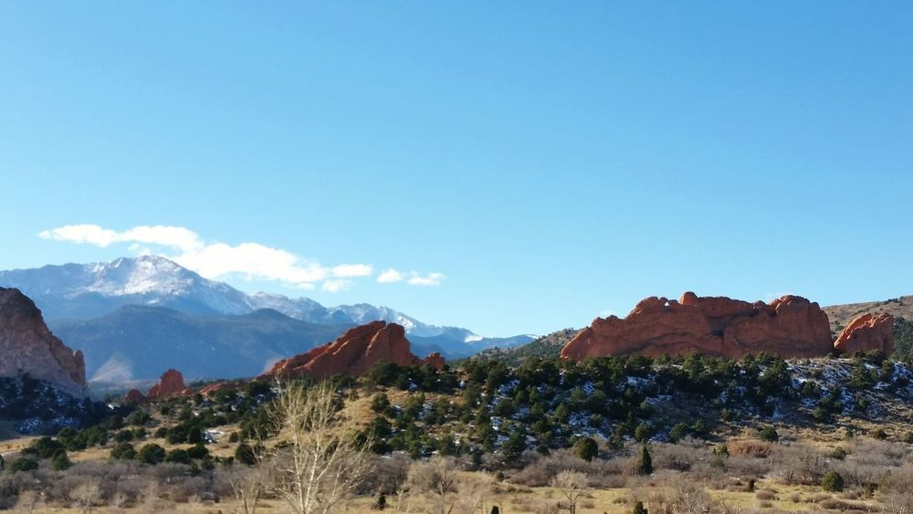 Colorado Colorado Springs Mountains Garden Of The Gods Coloradotography Coloradosprings Colorado Mountians Nature Mountains And Sky Landscape Landscape_CollectionEyeEm Best Shots - Nature Colorful Outdoors Pikes Peak Landscapes With WhiteWall