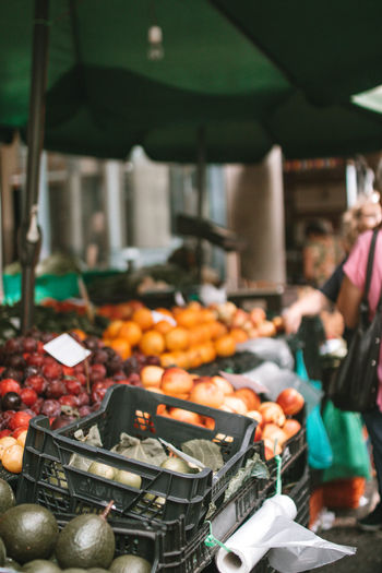 Food Food And Drink Freshness Healthy Eating Incidental People Market Market Stall Real People Retail