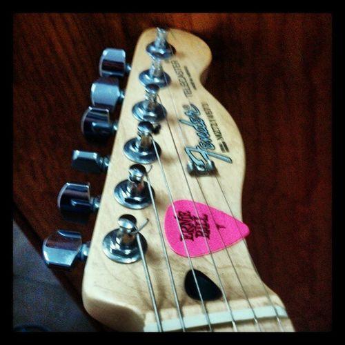Fender, Telecaster.... And Ernie Ball