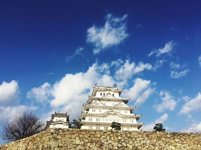 偉い Himeji Castle Miles Away