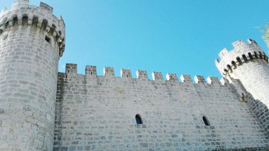 Castle Wall Towers Tower And Sky Wall And Sky Olmillos De Sasamon Castillo Tierra De Castillos Castilla Y León Torres Muralla Fortaleza