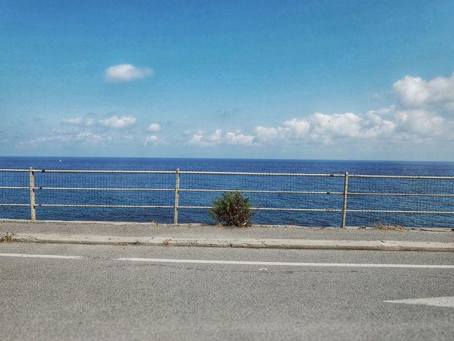 Diano Marina Liguria Liguria - Riviera Di Ponente EyeEm Liguria Road Sea Sea And Sky On The Bike Fujifilm
