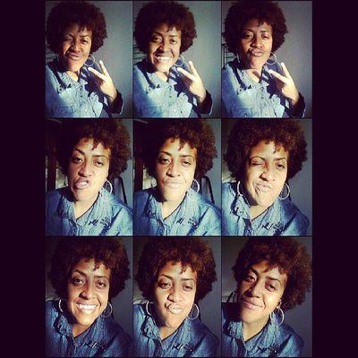 Curlyhair Amazinggirl Scarface Topgirl jeans tshirt blackgirl