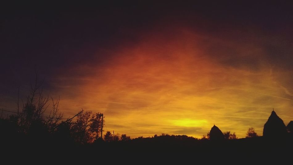 So sky is on fire Fire Sky And Clouds Skyonfire