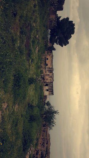 Historical Archaelogical Site Old Ruin Old House Um Qais Jordan