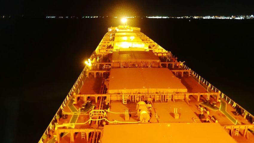 Nautical Vessel Tanker Nautical Theme Life Onboard Seamens View Illuminated History Sky