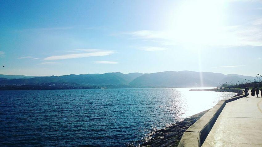 Hello World Güneş♡♥♡ Denizhavası Songüneşligünler Hava Harika