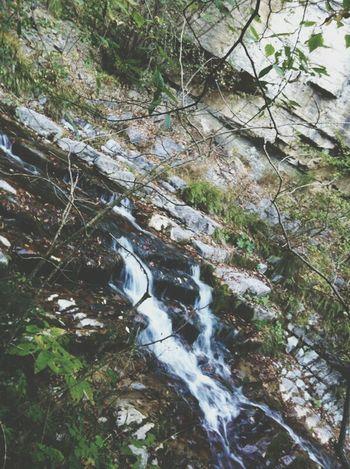 Beautiful Waterfall Waterfall Trip Landscape Nature Relaxing
