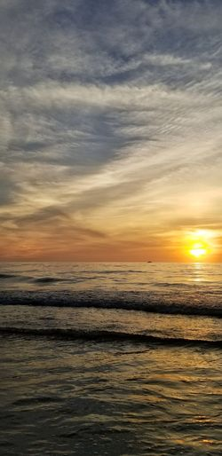 Water Sea Sunset Low Tide Beach Sun Sunlight Reflection Sky Horizon Over Water