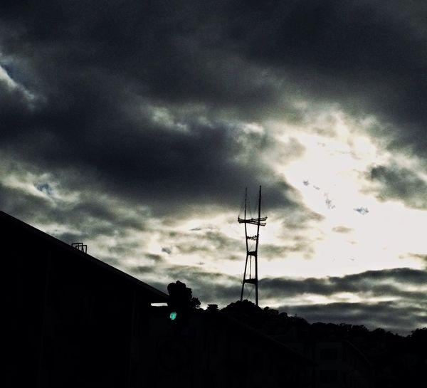 Blackandwhite Sutro Sunset Nordic Light Small Town Feel