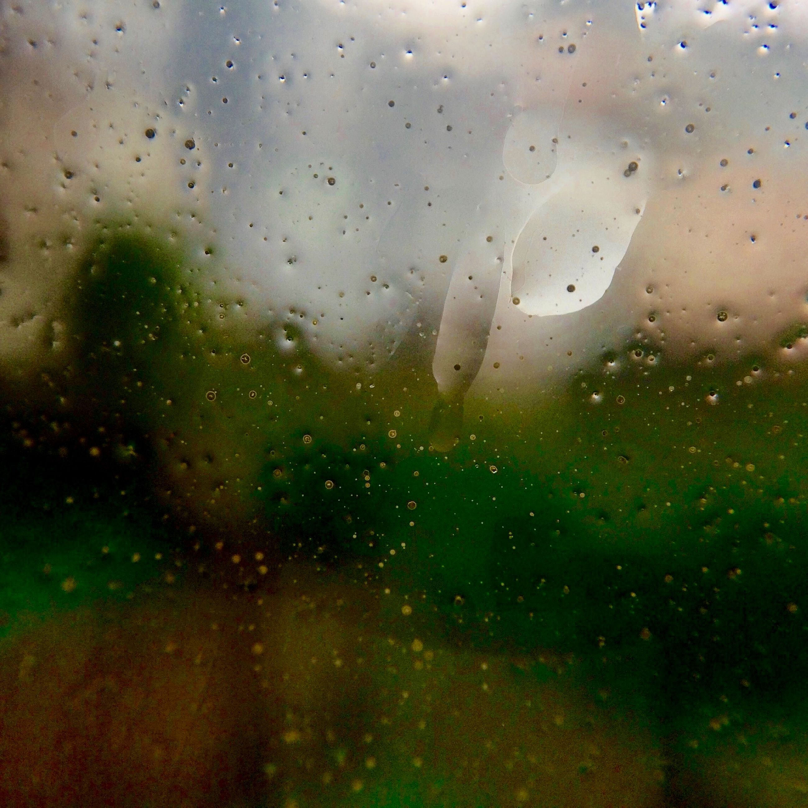 drop, window, wet, transparent, glass - material, water, rain, indoors, raindrop, weather, sky, glass, full frame, season, backgrounds, water drop, close-up, focus on foreground, nature, no people