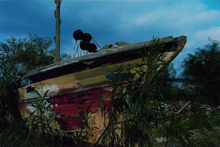 Boat Nature Nowater Old-fashioned Tunesië Bluesky Boat Rotten Tweda