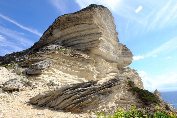 Beauty In Nature Cloud - Sky Eroded Geology Landscape Rock - Object Rock Formation Sky Tranquil Scene