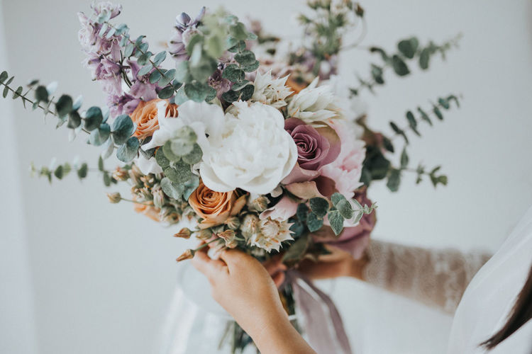 Adult Beauty In Nature Bouquet Celebration Close-up Event Flower Flower Arrangement Flower Head Flowering Plant Freshness Hand Holding Nature One Person Plant Real People Vulnerability  Wedding Wedding Ceremony Women