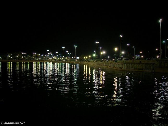 Libya Tripoli Sky City Nature Tree Water Night Illuminated Architecture Reflection Outdoors No People ليبيا طرابلس