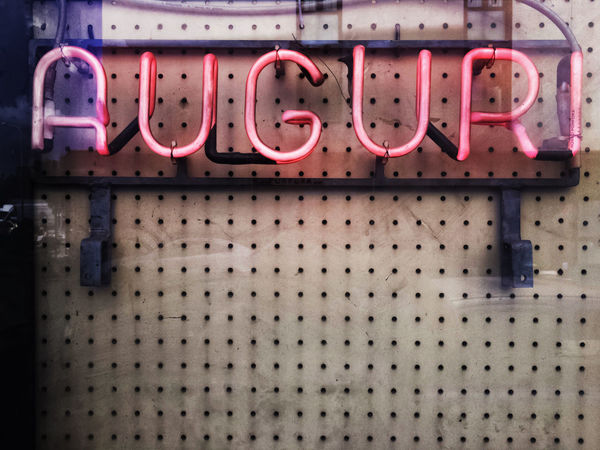 Best wishes to you. Decay Neon Signs Pink Type Faces Wishes Auguri Background Background Photography Close-up Decayed Beauty Lettering Lighted Neon Life Neon Sign No People Old Pink Color Reflections Window