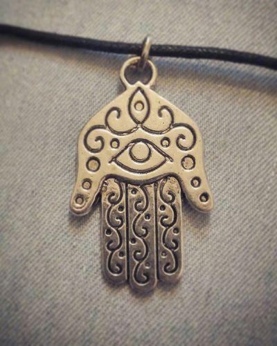 Hamsa Hamsa Hand Necklace Evileye