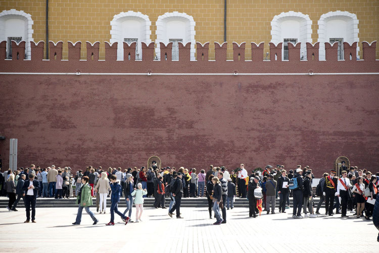Be. Ready. Check This Out EyeEmNewHere Hello World Kremlin Moscow Red Square Red Square Moscow Russia Tourist Attraction  Tourists Army Soldier Bricks Large Group Of People Military Military Uniform Outdoors People Red & Yellow Streetphotography Travel Destinations Young Adult