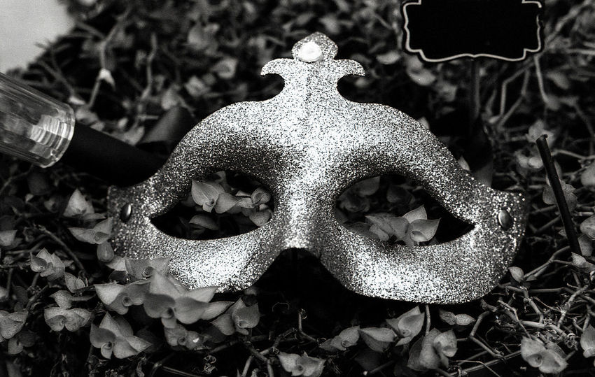 Mask Carnival Black And White Film Film Photography Filmisnotdead Analogue Photography Portrait Close-up Monochrome