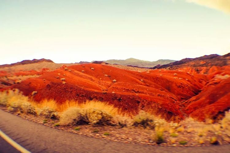 Red Sand Roadtrip Outdoors