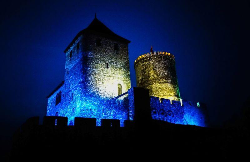 Castle History Architecture Illuminated Fortress Building Fort Historic Historic Building Past Civilization EyeEmNewHere