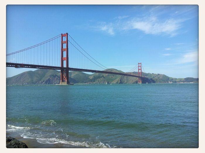 Golden Gate Bridge Is Red